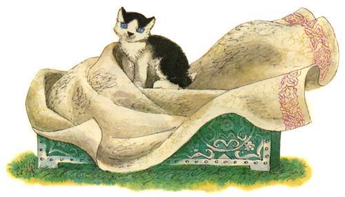 Отчего кошку назвали кошкой сказка Самуила Маршака читать онлайн текст - сказка с картинками - читать онлайн