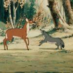 Сказка о собаке - Собака и олени - с картинками читать онлайн