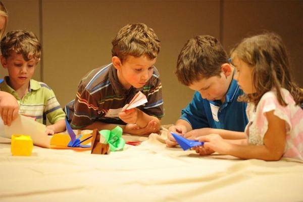 Как сделать оригами кошку  из бумаги для детей, видео, схема, мастер-класс - Это интересно